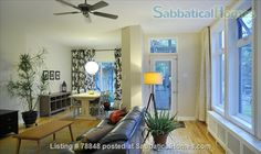SabbaticalHomes - Home for Rent Berlin 10115 Germany, Light-filled top floor apartment in Beautiful Home Gardens, Beautiful Homes, Berlin, Student Travel, Montreal Quebec, Renting A House, Gallery Wall, Home And Garden, Canada