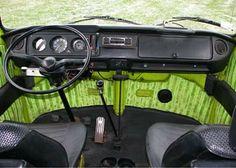 Interior of 1970 VW Bus
