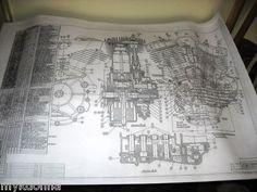 58 Best Harley Davidson Engine Blueprint Drawing Print ...