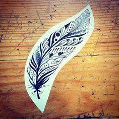 Instagram foto vanmarjorianne - For Cynthia #feather #feathertattoo #tattooapprentice #line #lineworktattoo #linework #blackline #mandala #mandalatattoo #ornaments #dotwork #dotworktattoo #instatattoos