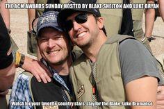Blake Shelton meme | The ACM awards Sunday Hosted by Blake Shelton and Luke Bryan Apr 06 14 ...