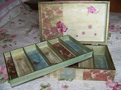 Photo 2 of Sold Enjoy It, Mixed Media, Decorative Boxes, Artsy, Romantic, Storage, Crafts, Home Decor, Purse Storage