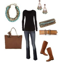 Outfits for fall - Click image to find more DIY & Crafts Pinterest pins