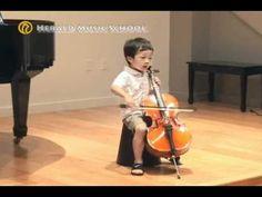 Youtube Allegro Suzuki Violin Child