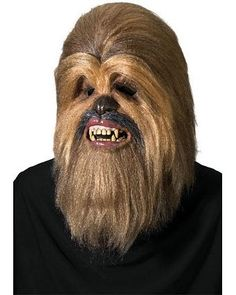 Dress up as your favorite Wookie with the help of this collector's quality Chewbacca mask. Made for the ultimate Star Wars fan, this adult Chewbacca mask will take your costume to a whole new level. Replace the mask of your Star Wars mask with this C. Chewbacca Halloween, Star Wars Halloween, Halloween Masks, Adult Halloween, Funny Halloween, Halloween Ideas, Halloween 2013, Halloween Party, Costumes