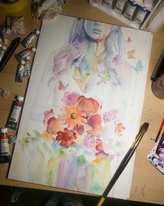 513 отметок «Нравится», 1 комментариев — Nawden   Art   Picture (@nawden) в Instagram: «by artist @laovaan follow 👉 @nawden #drawing #art #instaart #nawden #nawden_arts #arts_help…»