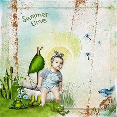 Summer Freshness by Kitty Scrap Photo Anastasia Serdyukova