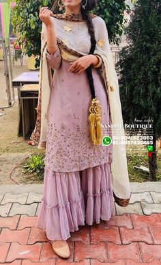 Pakistani Fashion Casual, Pakistani Dress Design, Indian Fashion, Pakistani Suits, Sharara Designs, Kurti Designs Party Wear, Indian Attire, Indian Outfits, Suit Fashion