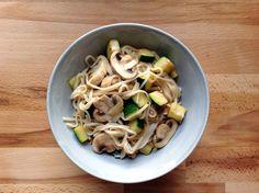 reCocinero: wok de fideos de arroz y verduras