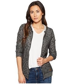 Roxy Trippin Zip Hoodie at Zappos.com