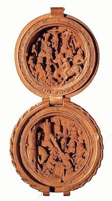 DIRCKSZ, Adam Prayer-nut c. Rosary Beads, Prayer Beads, Amsterdam, Miniatures, Carving, Sculpture, Sociology, Philosophy, Politics