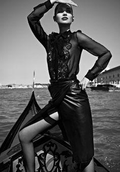 fashion on boat