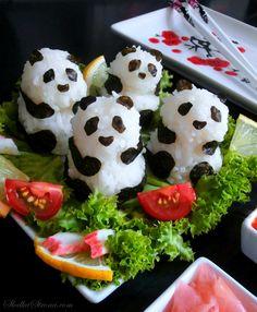 Słodka Strona: Sushi Panda