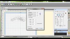 How to Template for vinyl on glass or acrylics with curved surface SCAL4...