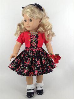 American Girl 18-inch Doll Clothes Sundress Jacket Undies