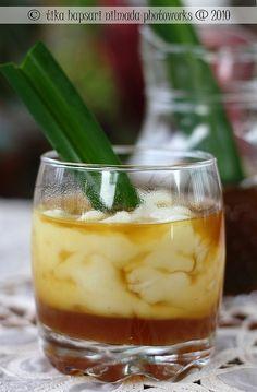 Indonesian rice pudding (bubur sumsum) #IndonesianFood #makanan #Indonesia