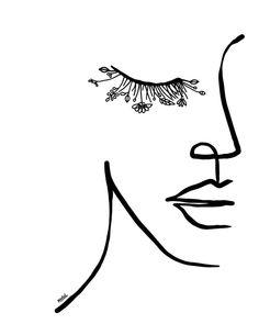 Art Drawings Sketches, Easy Drawings, Tattoo Drawings, Tattoo Sketches, People Drawings, Line Art Tattoos, Simple Line Drawings, Abstract Drawings, Minimal Art