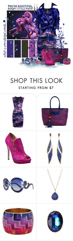 """""""You're Beautiful!"""" by lisa-arnold-holden ❤ liked on Polyvore featuring mel, Masquerade, Roberto Cavalli, Rebecca Minkoff, Jerome C. Rousseau, Dennis Basso, Maiyet, Prada, Lola James Jewelry and Forever 21"""