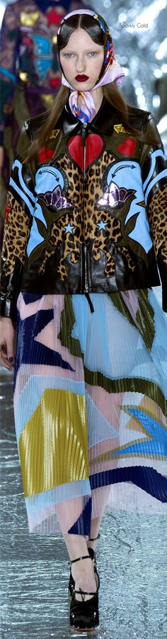 Mary Katrantzou Fall 2016 RTW