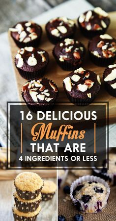 16 Delicious Muffins That Are 4 Ingredients Or Less