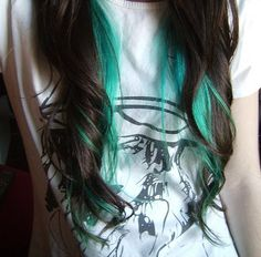 Doing this to my hair, it's gonna be same color too haha