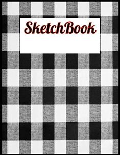Sketch Book:buffalo plaid white and black Blank Pages For Writing Drawing Book- Large Sketch Book: 8.5x 11 Inchs, 110... Cute Baby Cartoon, Cute Love Cartoons, Cartoon Drawings, Easy Drawings, Blank Page For Writing, Amazon Coloring Books, Funny Cartoon Memes, Buffalo Plaid, Love You