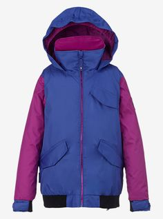 Burton Girls' Twist Bomber Jacket | Burton Snowboards Winter 16