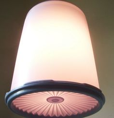 Tupperware lamp! haha! I don't have one, but you never know with my addiction!