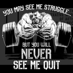 I am the first to admit I have struggled I have had set backs with journey but y Powerlifting Motivation, Training Motivation, Fit Motivation, Ct Fletcher Shirts, Bodybuilding Motivation Quotes, Gym Quote, Bodybuilding Supplements, Gym Rat, Physical Fitness