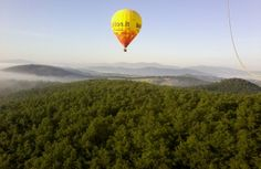 La #Toscana in #mongolfiera! - Hot air #ballooning in #Tuscany, #Italy! #balloon