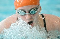 LOOKS LIKE SHE'S SWIMMING THROUGH ICE!  BURRR... NolaWet***********  Danville's Emily Edelstein swims a leg of the 200 medley relay during Tuesday's meet against Jersey Shore in Danville.