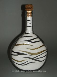 Sand bottle by Teresa Colaninno