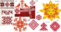 Belarus National Ornaments