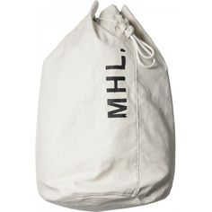MHL LAUNDRY BAG (1.955.710 IDR) ❤ liked on Polyvore featuring home, home improvement, storage & organization, bags and fillers