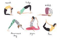 6 bonnes raisons d'aller au #YogaFestival à #Paris ce week-end – Formally Informal by Julie Duval #yoga illustration par Emma Block
