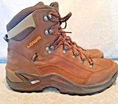 Lowa Renegade GTX Mid | Sporting Goods, Outdoor Sports, Camping & Hiking | eBay! Ebay Listing, Hiking Boots, Camping, Best Deals, Sports, Men, Outdoor, Walking Boots, Campsite