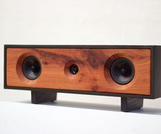 My goal for the Elder Bluetooth Speaker was a speaker that could fill a large room with full sound and look great doing it. In this build I'm using reclaimed redwood for the front baffle, which works well and sounds great, but you can use any aesthetically pleasing wood. I've found hardwoods sound the best. The enclosure is made from solid pine. I chose this for it's looks after being stained and because the font and back will have an exposed edge. You can use plywood for the enclosure, but…
