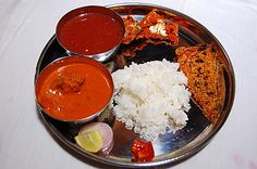 Konkani Non-Vegetarian Fish Thali