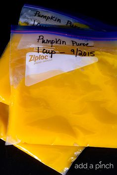 Homemade Pumpkin Puree is so simple to make at home and is absolutely scrumptious! // addapinch.com
