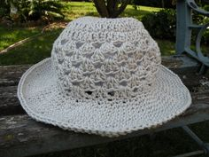 chapeau crochet enfant