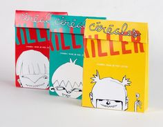 """Cereal """"Killer"""" brand packaging.  Student work by Anouk Perreault"""