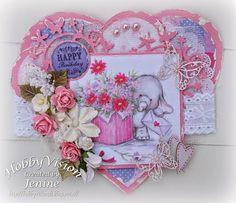 Jenine's Card Ideas: Bella's Bouquet
