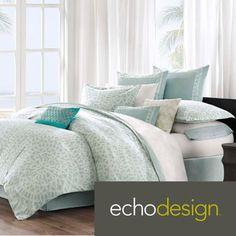 Possible Guest Room Bedding? Echo Mykonos 300 Thread Count Cotton 3-piece Comforter Set