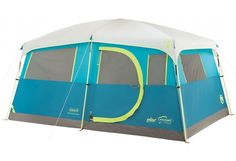 Enjoy some comforts from home while camping with the Coleman Tenaya Lake Fast Pitch Cabin Tent with Closet. This camping tent includes a built-in closet with shelves and a hanger bar, maki… Best Tents For Camping, Cool Tents, Camping Gear, Outdoor Camping, Camping Hacks, Camping Cabins, Camping Guide, Camping Supplies, Camping Hammock