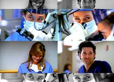 """""""That was such a high. I don't know why anyone does drugs."""" Meredith's first shift and first surgery with Derek."""