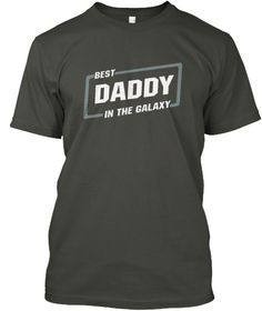 Best Seller Fathers Day Gift   Best Dad Smoke Gray Kaos Front