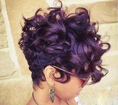 30 Black Women Short Hairstyles 2015 – 2016 - My list of women's hair styles Short Hairstyles 2015, Black Women Short Hairstyles, Easy Hairstyles, Girl Hairstyles, Short Sassy Hair, Short Hair Cuts, Pixie Cuts, Short Pixie, Straight Hair