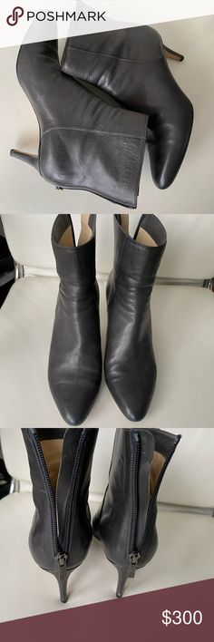 Attention Women/'s  Catrina  Ankle Boot Grey or Black MicroSuede size 7 or 10