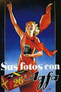 Publicidad Fotografica Agfa.