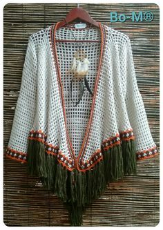 Feito à mão 00855800122100 Booties Crochet, Crochet Cap, Crochet Shawl, Crochet Girls Dress Pattern, Crochet Cardigan Pattern, Crochet Jacket, Crochet Patterns, Crochet Designs, Knitting Designs